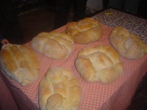 Mira que panes salen cuando tiene buen humor